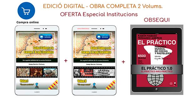 Cuina i Cuiners a la Corona d'Aragó i Catalunya - 2 Volums ebooks - Edició Digital