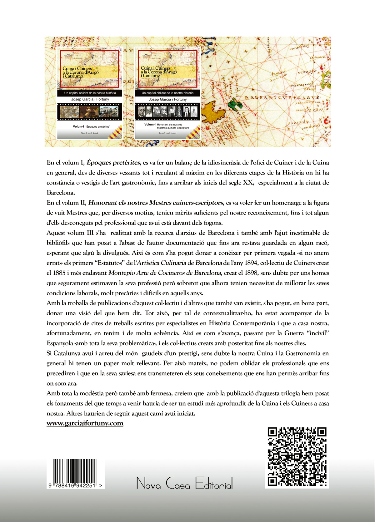 Cuina i Cuiners a la corona d'aragó i catalunya (Vol. III ) - 1885-2008 / Anys d'unions i desunions