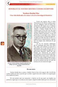 Mestres Guiners-Escriptors : Teodoro Bardají