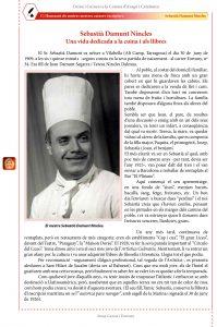 Mestres cuiners-escriptors: Sebastià Damunt Nincles