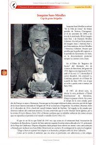 Mestres cuiners-escriptors: Joaquim Sans Miralles