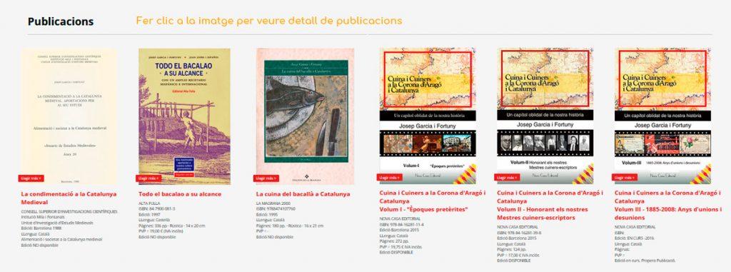 Publicacions de 'Autor Josep Garcia i Fortuny