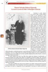 Mestres cuiners-escriptors: Ramon Rabasó Figuerola