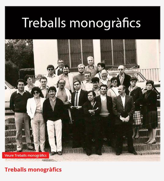 Treballs monografics de 'Autor Josep Garcia i Fortuny