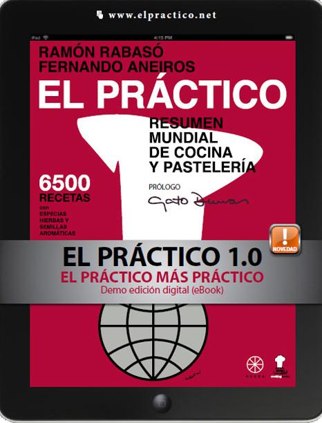 El Práctico de Cocina - 6500 recetas Ramon Rabasó / Editorial Rueda