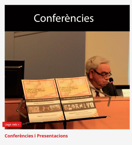 Conferències de 'Autor Josep Garcia i Fortuny